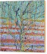 Breathe - Tree Of Life 4 Wood Print