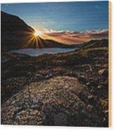 Breathless Sunrise II Wood Print