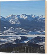 Breathtaking View Wood Print