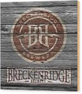 Breckenridge Brewery Wood Print