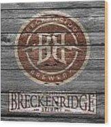 Breckenridge Brewery Wood Print