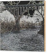 Brecksville Bridge Wood Print
