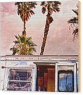 Breezy Day Palm Springs Wood Print