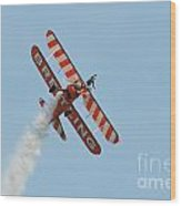 Breitling Wingwalkers Team Wood Print
