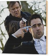 Brendan Gleeson and Colin Farrell @ In Bruges Wood Print