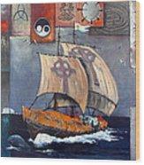 Brendan Voyage Wood Print