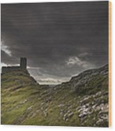 Brentor Church Dartmoor Devon Uk Wood Print