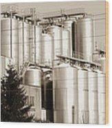 Brewery Wood Print