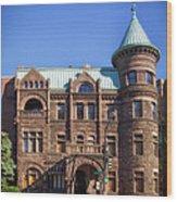Brewmaster Castle - Washington Dc Wood Print