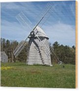 Brewster Windmill Wood Print