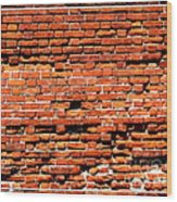 Brick Scarp Walls And Casement Gallery Wood Print