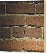 Bricks Wood Print
