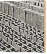 Bricks Drying In The Sun Wood Print