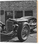 Brickyard Buick Wood Print
