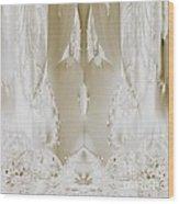 Bridal Satin Wood Print