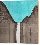 Bridalveil Fall Original Painting Sold Wood Print