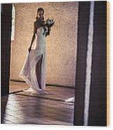 Bride. In Color Wood Print