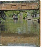 Bridge 238b Oxford Canal Wood Print