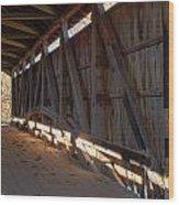 Bridge 38 Wood Print