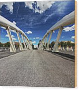 Bridge Arch Wood Print