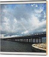 Bridge Wood Print by Bruce Kessler