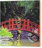 Bridge Front Wood Print