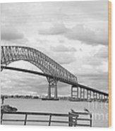 Bridge II Wood Print