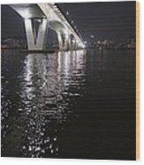 Bridge Korea Wood Print