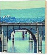 Bridge Of Arches Wood Print