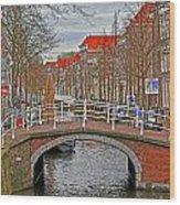 Bridge Of Delft Wood Print