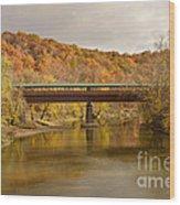 Bridge Of Dreams Wood Print