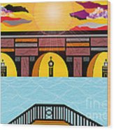 Bridge Of Hope Wood Print