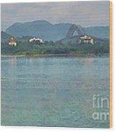Bridge Of The Americas From Casco Viejo - Panama Wood Print