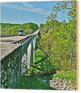 Bridge Over Birdsong Hollow At Mile 438 Of Natchez Trace Parkway-tennessee Wood Print