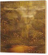Bridge Over Muddy Waters- Original Sold - Buy Giclee Print Nr 35 Of Limited Edition Of 40 Prints   Wood Print