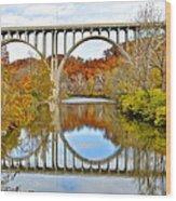 Bridge Over The River Kwai Wood Print