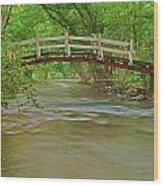 Bridge Over Valley Creek Wood Print