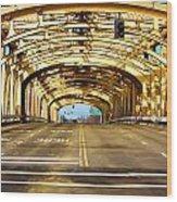 Bridge Span Wood Print