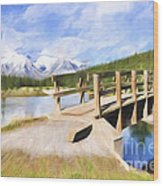 Bridge To Beauty Wood Print