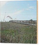 Bridge To Dreams Wood Print by Julie Cameron