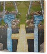 Bridge To Eternity Wood Print
