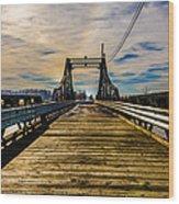 Bridge To No Where Wood Print
