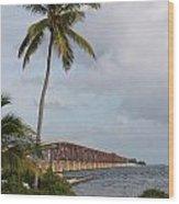 Bridge To Paradise Wood Print
