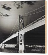 Bridge To Poughkeepsie 2 Wood Print