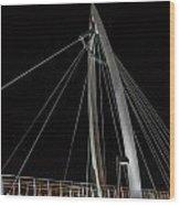 Bridge To The Keeper Wood Print