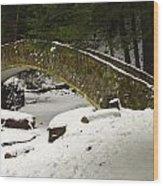 Bridge To Wonderland Wood Print