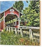 Bridge To Yesterday Wood Print
