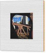 Bridge_09.23.12 Wood Print