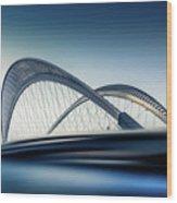 Bridge#1 Wood Print