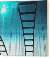 Bridges To Heaven Wood Print